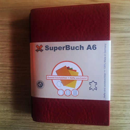 Carnet rechargeable A6, X17 SuperBuch